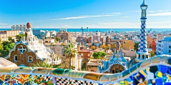 Letecký 4-dňový poznávací zájazd do Barcelony