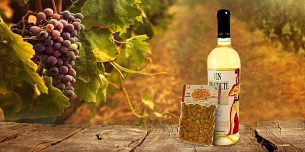 Vynikajúce grécke vína a olivy