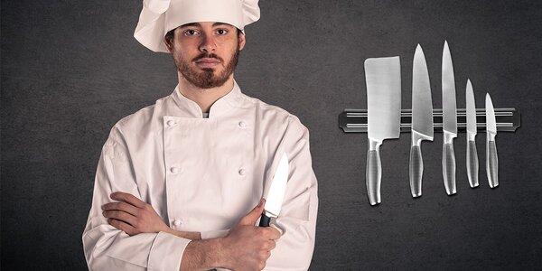 Magnetický držiak na nože a náradie