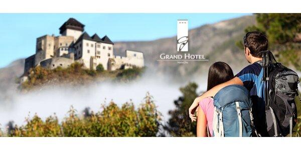 Víkendový wellness pobyt pre dvoch v GRAND Hoteli***