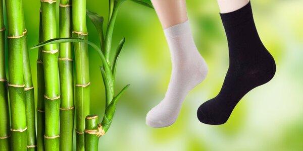 Bambusové ponožky pre pánov či dámy
