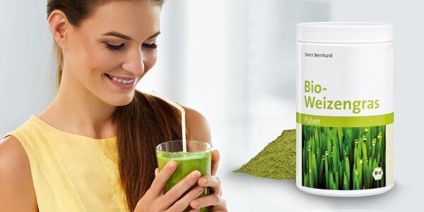Detoxikujte s BIO mladou pšenicou!
