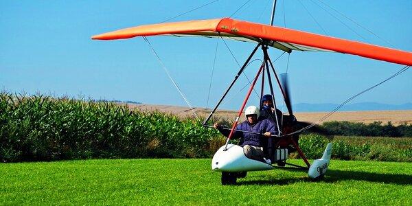 Lety rogalom ponad Oravu