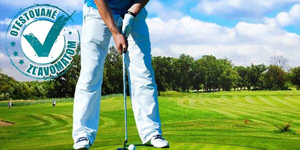 Odpaľujte ako Tiger Woods: skupinové lekcie golfu s trénerom