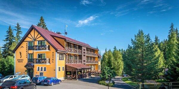 Jarný relax a turistika v novom horskom hoteli Orešnica v Račkovej doline, deti…