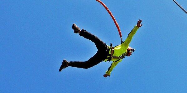 Bungee katapult. Adrenalínový let do nebies