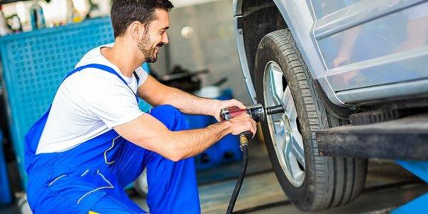 Prezutie a uskladnenie pneumatík - vyvažovací materiál v cene!