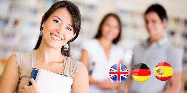 Jazykové kurzy AJ, NJ, ŠJ ale aj slovenčiny