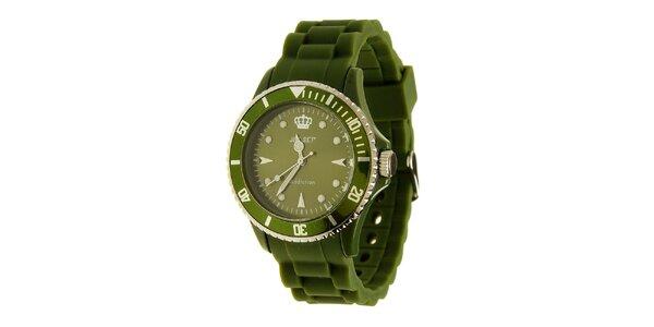 Zelené hodinky Jet Set