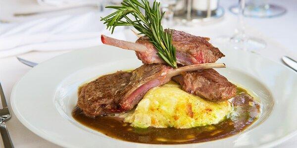 Kulinárske 3-chodové menu v Reštaurácii v Boteli PRESSBURG