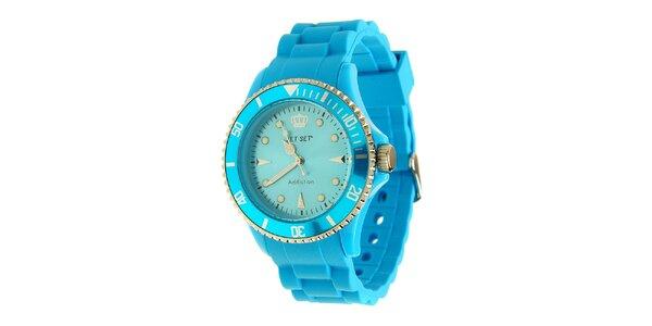Dámske azúrovo modré hodinky Jet Set