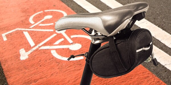 Taška pod sedlo bicykla