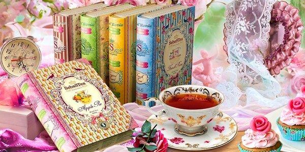 Sypané čaje v štýlových obaloch