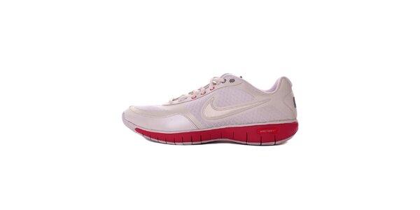 Dámske bielo-ružové tréningové tenisky Nike