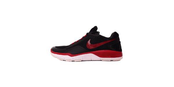 Pánske červeno-čierne tenisky Nike