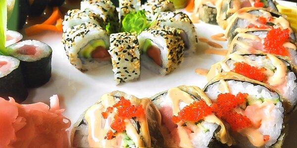 Svieži jarný sushi set pre dvoch v TOP reštaurácii Sushihanil