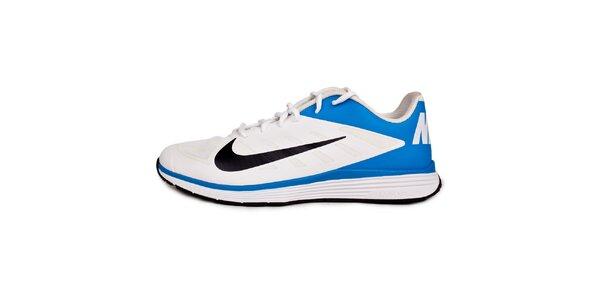 Pánske modro-biele tréningové tenisky Nike