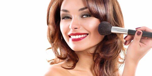Exkluzívny kurz sebalíčenia - každé ráno make up ako od profesionála