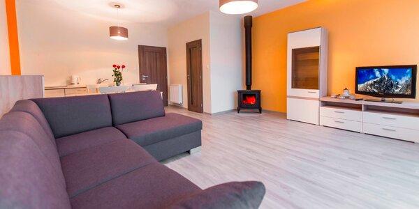 Komfort v luxusných apartmánoch pod Tatrami