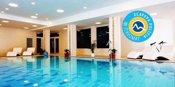 Wellness pobyt pre 2 osoby pod Vysokými Tatrami v novom hoteli Končistá ****