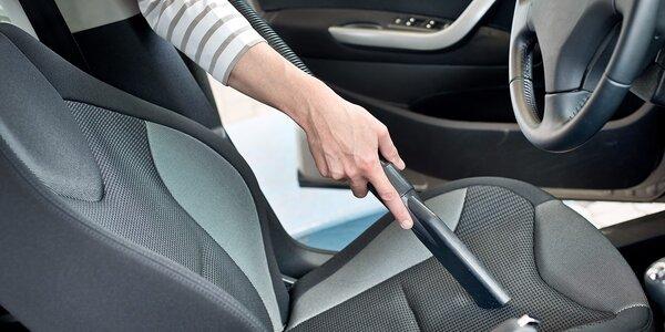 Kompletné tepovanie a vysávanie auta - aj u vás doma!