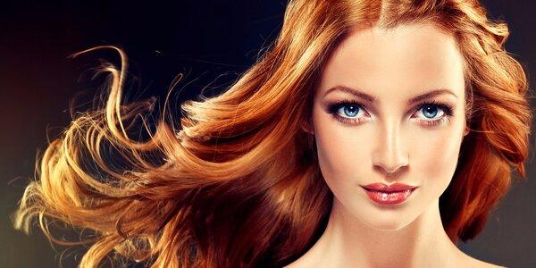 Rekonštrukčná vlasová kúra NASHI, nový strih a farbenie