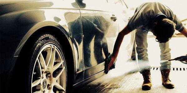 Najúčinnejšie čistenie auta parou za skvelé ceny - aj u vás doma!