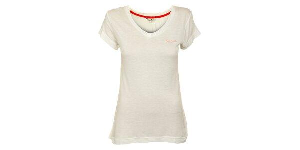 Dámske biele tričko Tom Tailor