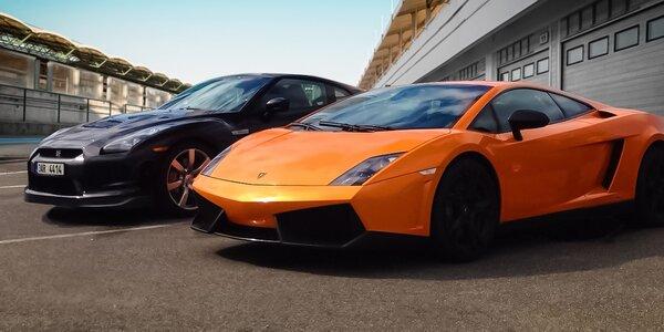 Jazda na Lamborghini či Nissane - vodič či spolujazdec