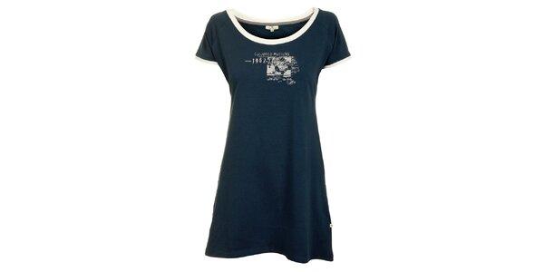 Dámska modrošedá nočná košeľa Tom Tailor