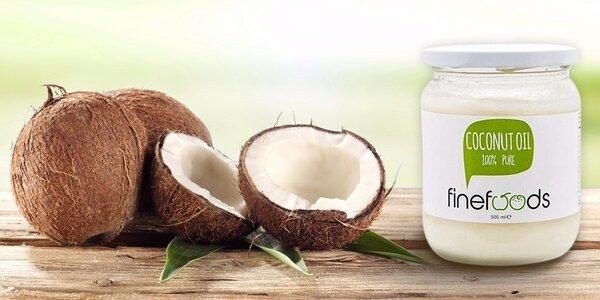 100 % prírodný kokosový olej bez vône 500 ml