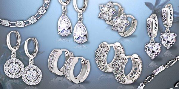 Luxusné náušnice a náramky La Diamantina