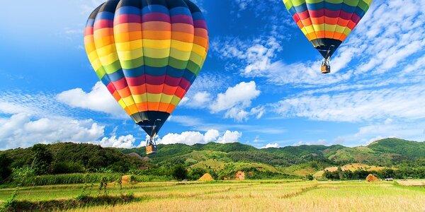 Adrenalínové nebo! Zážitkový let balónom - darček z lásky