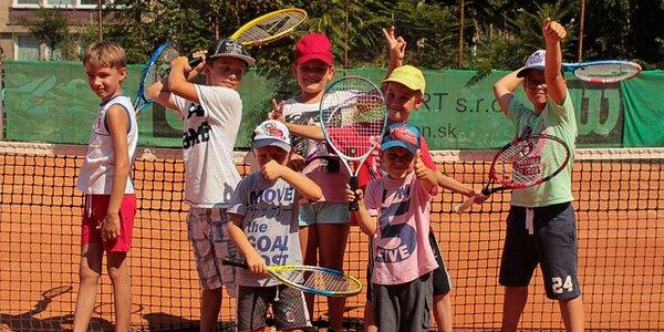 5-dňový denný tenisový tábor pre deti od 4 do 14 rokov. Leto 2016!