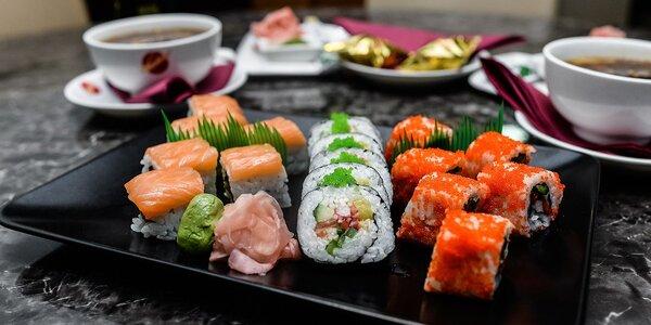 Výborné SUSHI v Asian Restaurant Sunshine v Auparku