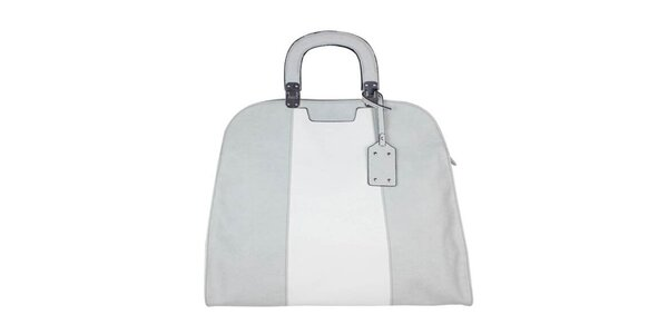 Dámska šedo-biela retro kabelka Princess Cult