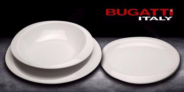 Sada 3 porcelánových tanierov Bugatti Home