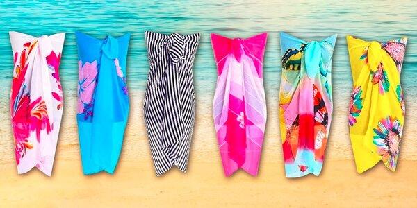 Módne šatky na pláž