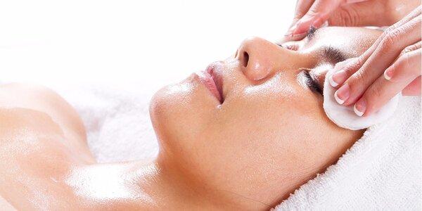 Hĺbkové čistenie pleti s masážou tváre