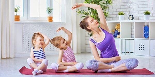 Joga pre deti a maminy. Zacvičte si spoločne!