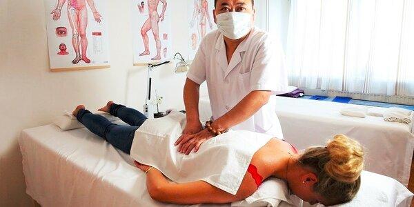 Tradičná čínska masáž proti bolesti