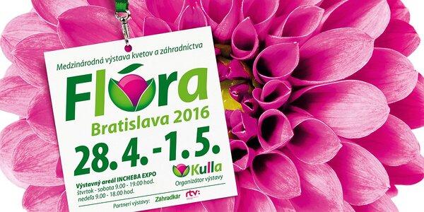 37. ročník medzinárodného veľtrhu kvetín a záhradníctva FLÓRA BRATISLAVA