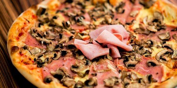 Pravá pizza ako od Taliana. Vyberte si z 10 druhov!