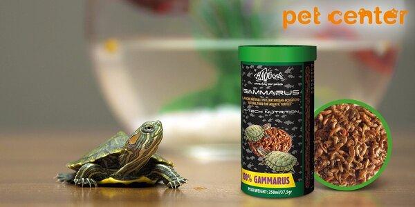 Krmivo Haquoss: Sušené krevety pre korytnačky