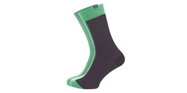 Dámske šedo-zelené ponožky Minga Berlin - 3 páry
