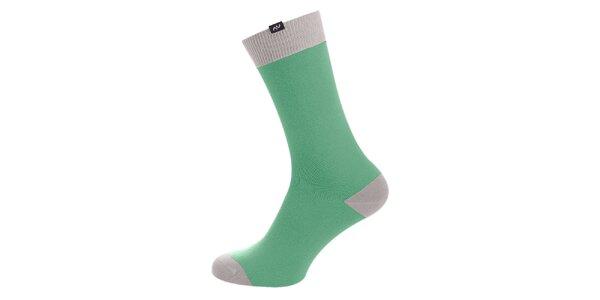 Dámske zeleno-šedé ponožky Minga Berlin - 3 páry
