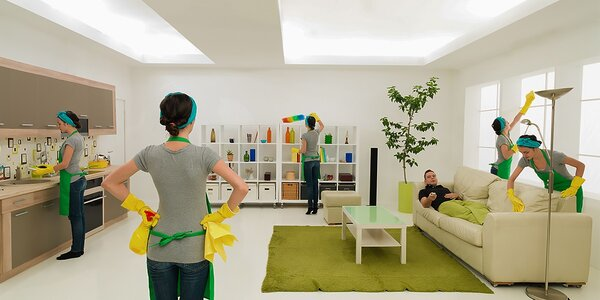 LUX upratovanie a umývanie okien: garsónky, byty i domy