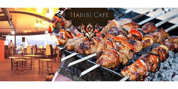 Orientálny degustačný mix pre dvoch v Habibi cafe & restaurant