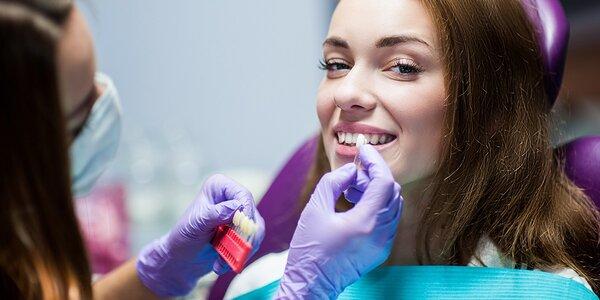 Krásne biele zuby v ambulancii Sundent
