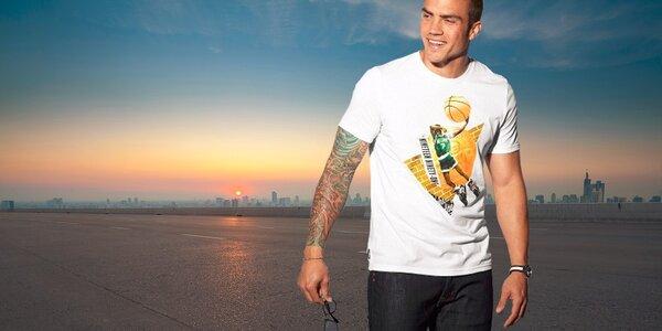 Pánske tričká svetových značiek